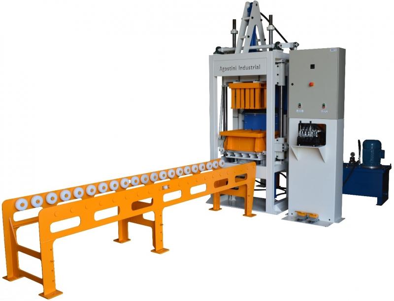 1d3b6f187 Máquinas para Blocos e Pavers de Concreto - Agostini Industrial ...